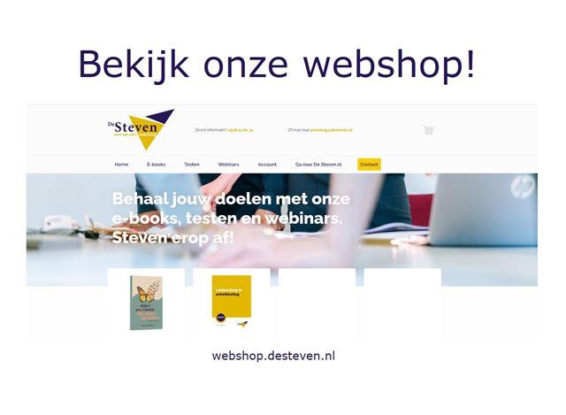 Webshop de steven