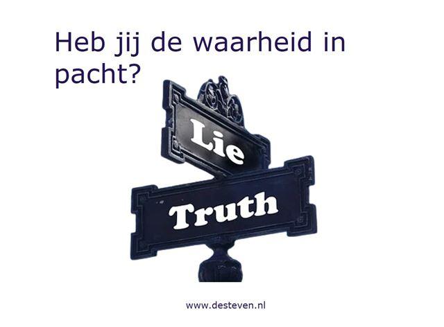 De waarheid of de wijsheid in pacht hebben