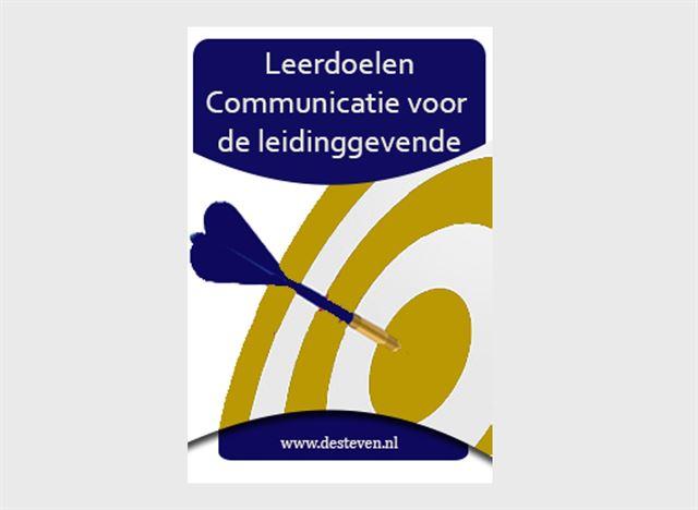 Leerdoelen communicatie leidinggevende
