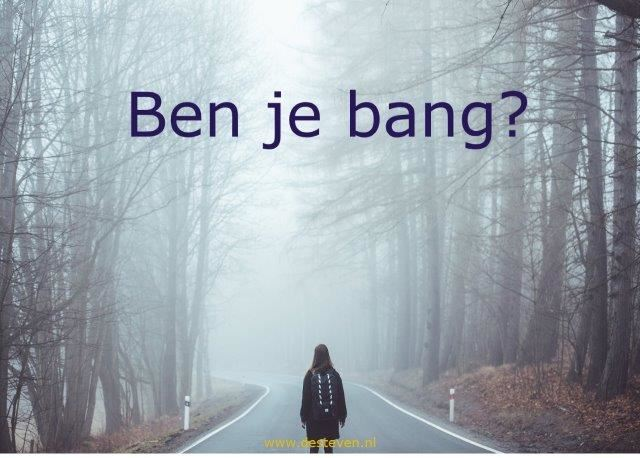 Bang of angstig zijn