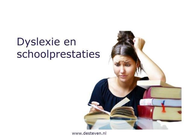 Dyslexie en schoolprestaties