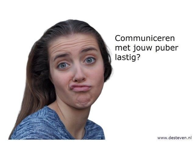 Communicatie pubers lastig?