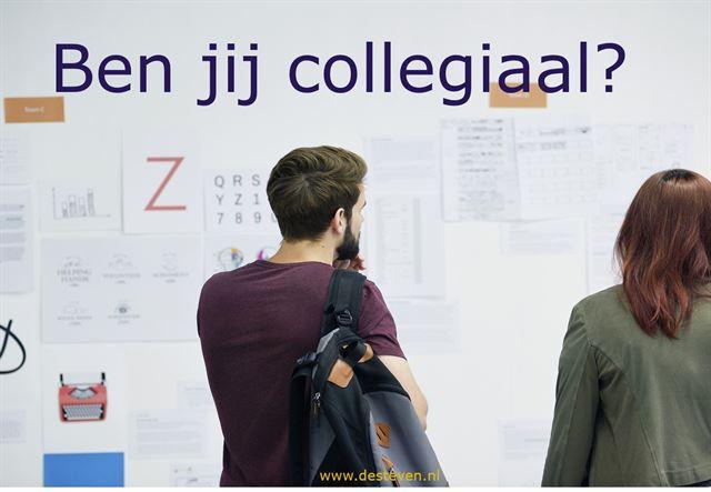 Collegiaal