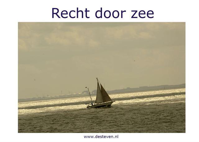 Recht door zee