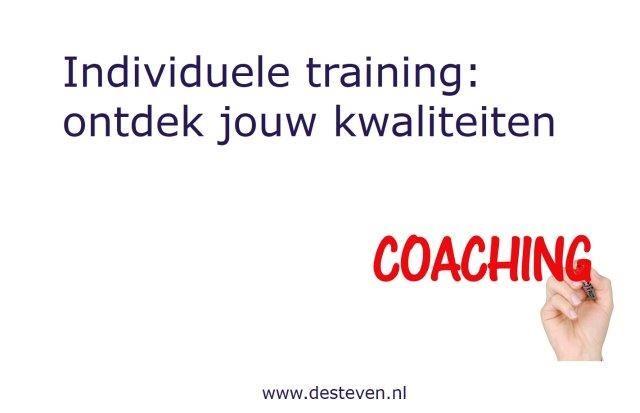 Training kernkwaliteiten individueel