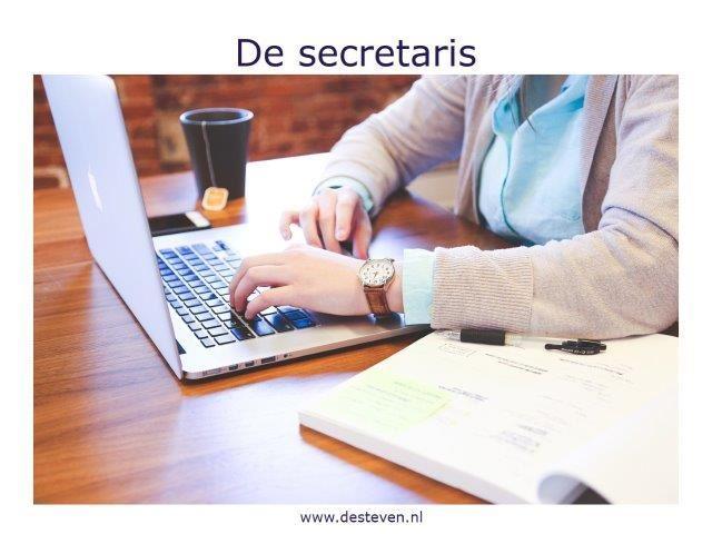 Secretaris van de vergadering