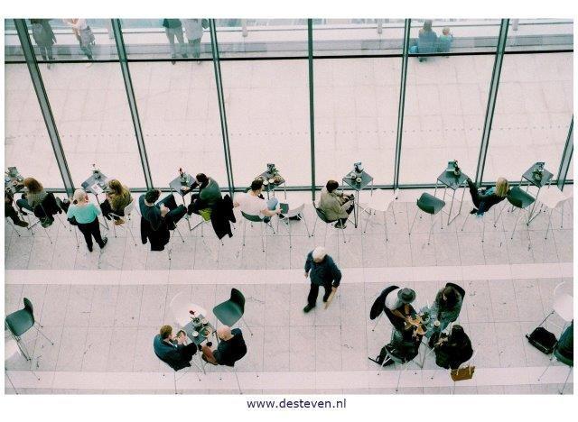 Samenwerking tijdens de vergadering