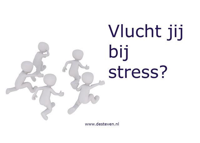 Vluchten bij stress
