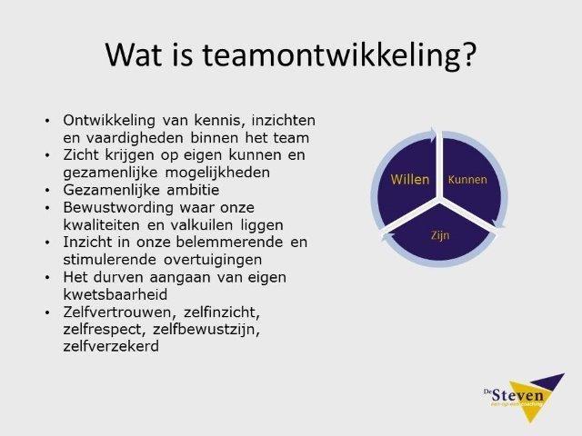 Wat is teamontwikkeling