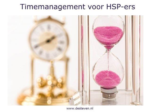 Training timemanagement voor HSP-ers