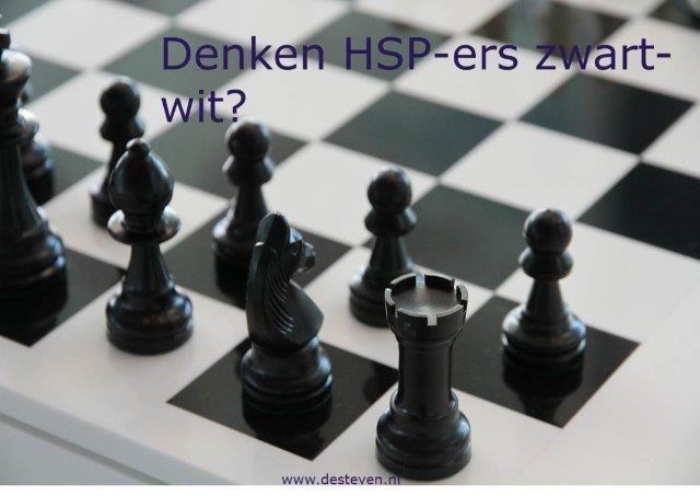 Denken HSP-ers zwart wit?