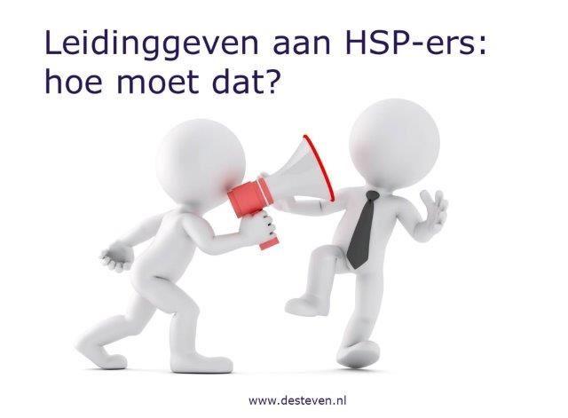 Leidinggeven aan HSP-ers