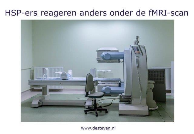 HSP en fmri scan: wetenschappelijk onderzoek