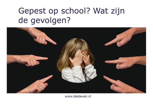 Pesten of gepest op school