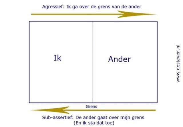 Assertief, sub-assertief en agressief gedrag
