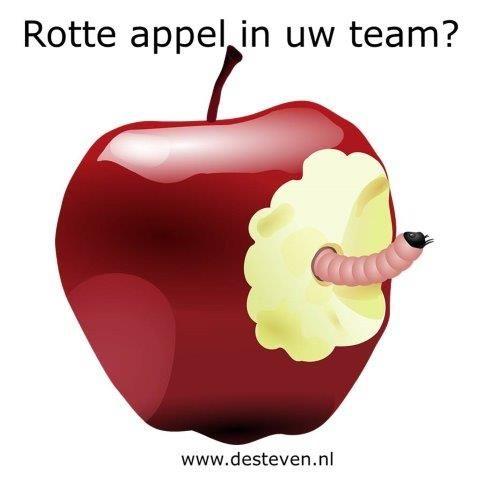 Rotte appel in het team