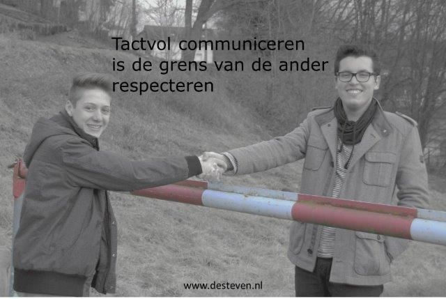 Tactvol leren communiceren