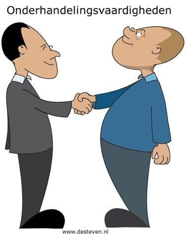 Onderhandelingsvaardigheden