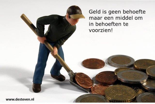 Geld behoefte
