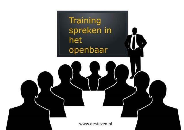 Training spreken in het openbaar