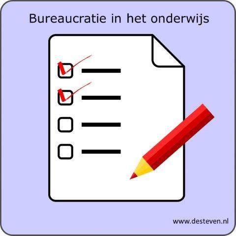 Bureaucratie in het onderwijs