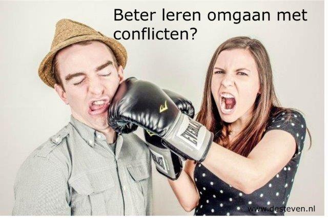 Leren omgaan met conflicten