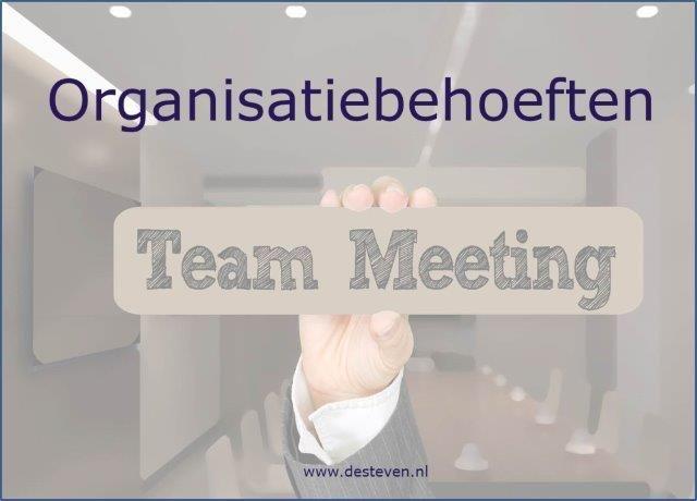 Organisatiebehoeften