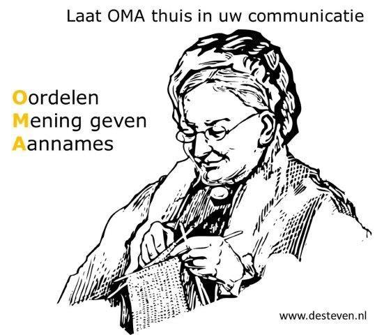 Oordelen, mening geven en aannames (OMA)