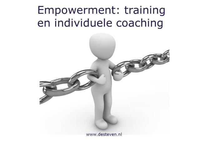 Empowerment: training en coaching