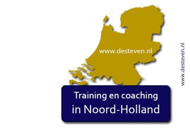 Noord-Holland: training, coaching, cursus en outplacement