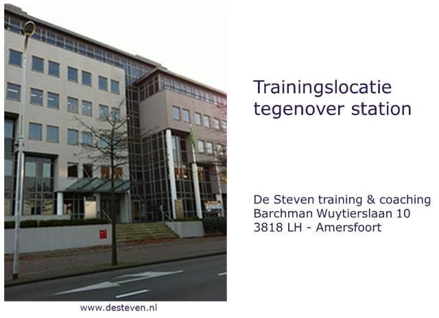 Trainingslocatie te Amersfoort De Steven