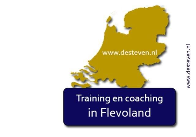 Flevoland: training, coaching, cursus en outplacement