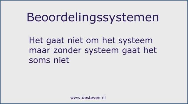 Beoordelingssystemen medewerkers en personeel