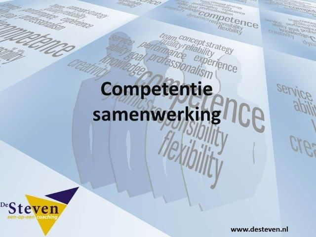 samenwerking competentie