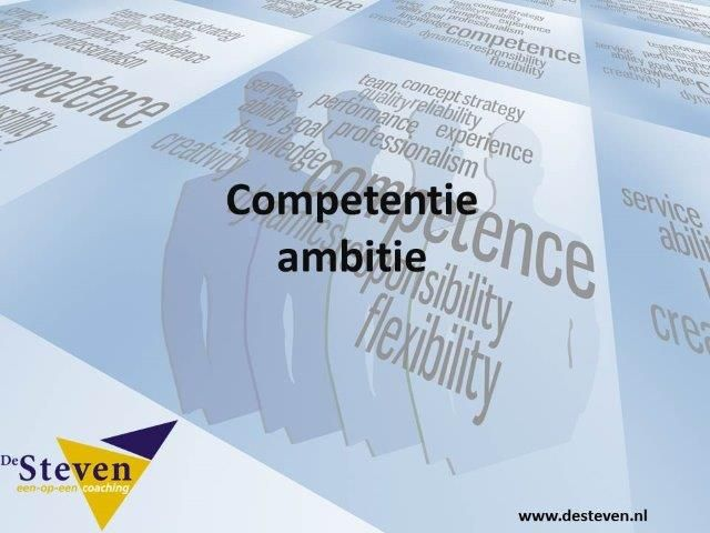 ambitie competentie
