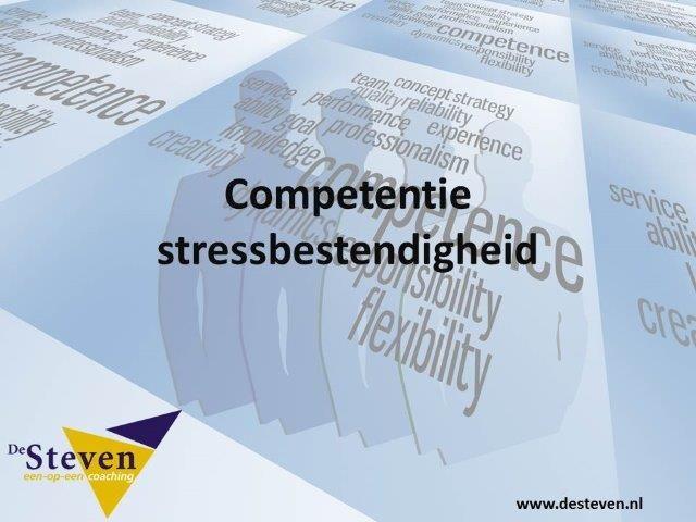 stressbestendigheid competentie