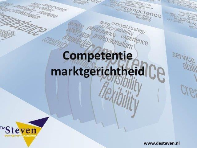 marktgerichtheid competentie