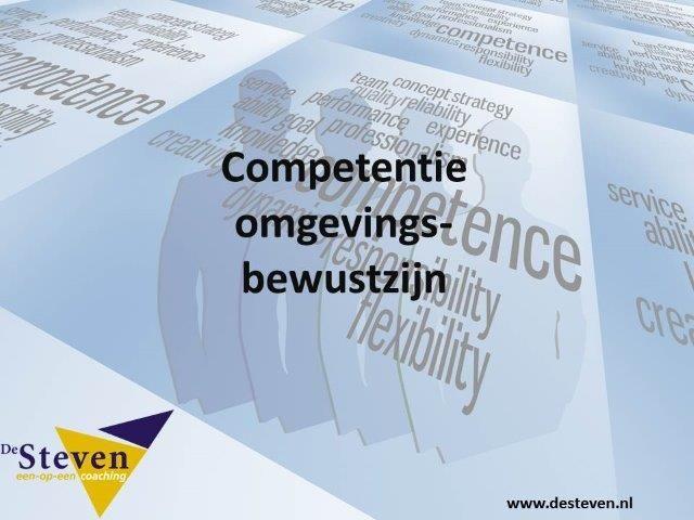 omgevingsbewustzijn competentie