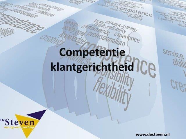 klantgerichtheid competentie
