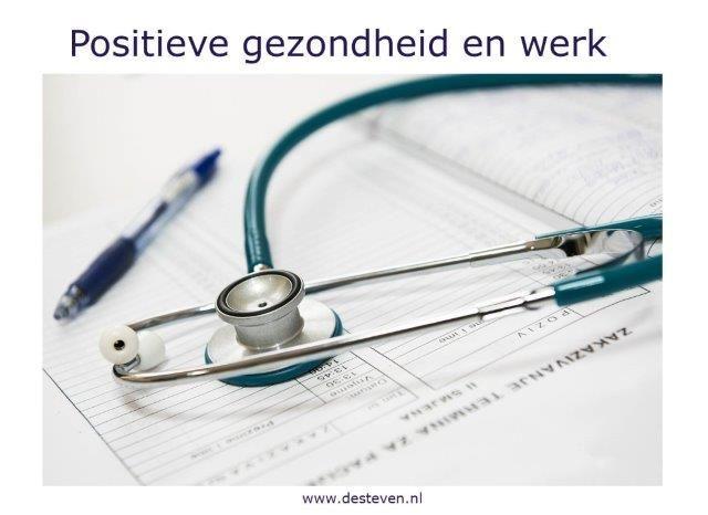 Positieve gezondheid en werk