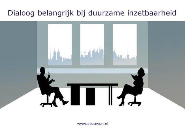 Dialoog en gespreksvoering bij duurzame inzetbaarheid