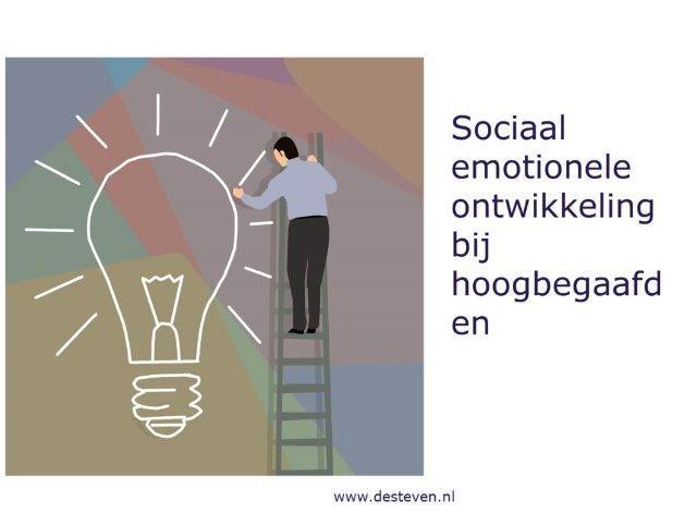 Hoogbegaafd en sociaal emotionele ontwikkeling