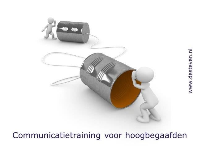Communicatietraining hoogbegaafden