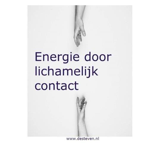 Energie door lichamelijk contact