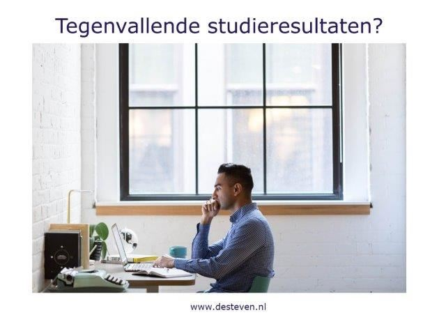 Studieresultaten vallen tegen?