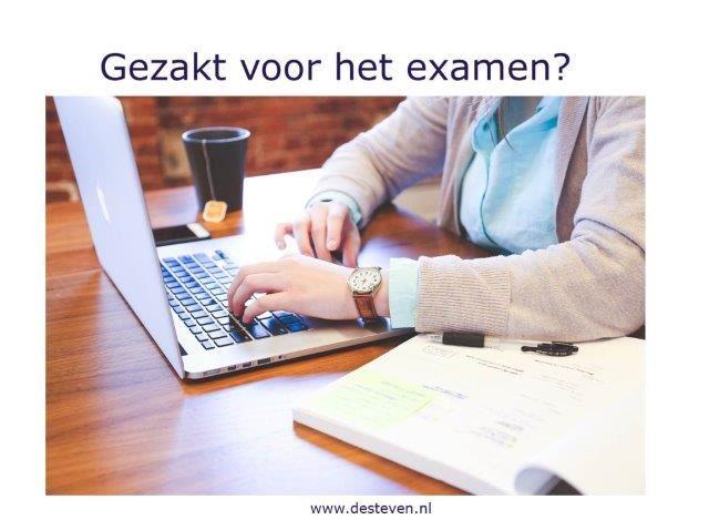 Gezakt voor het examen?