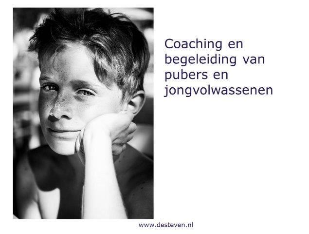 Coaching pubers en jongvolwassenen