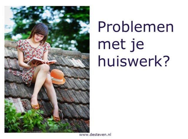Huiswerkproblemen?
