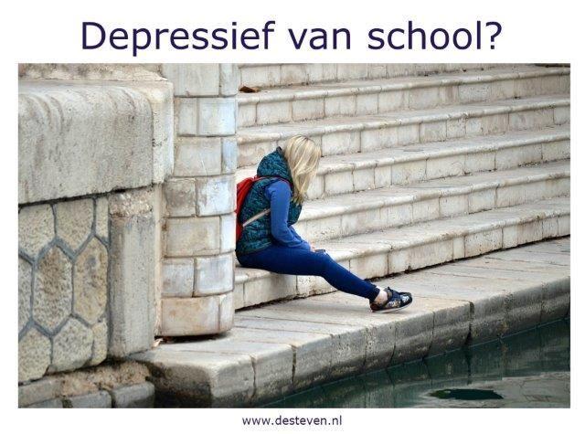 Depressief van school of van jouw studie?