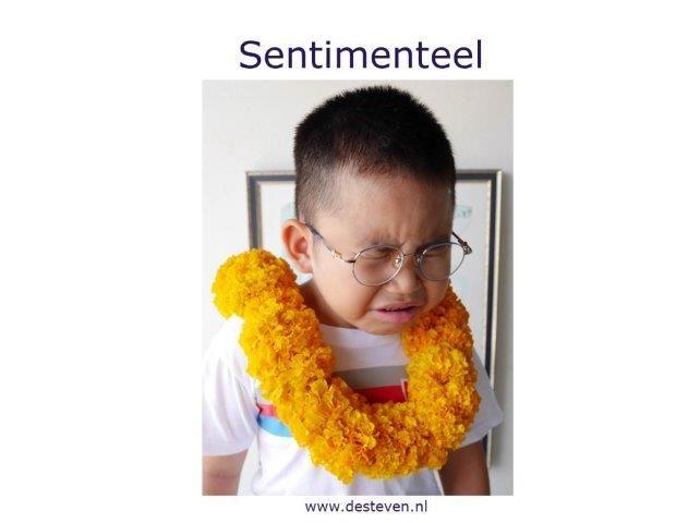 Sentimenteel